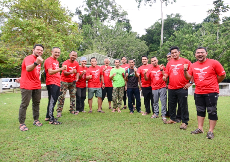 ANGKASA Hikers from ANGKASA KESKA