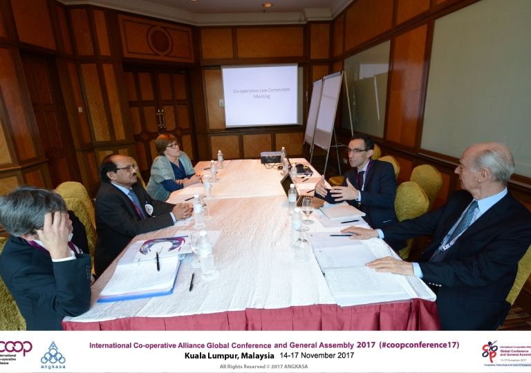 Co-operative law committee meeting