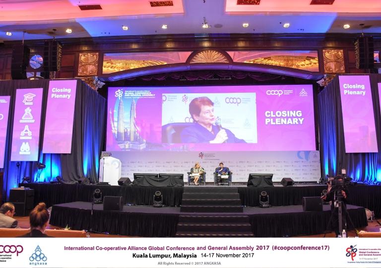 PLENARY   Closing keynote plenary - Dr Gro Harlem Brundtland