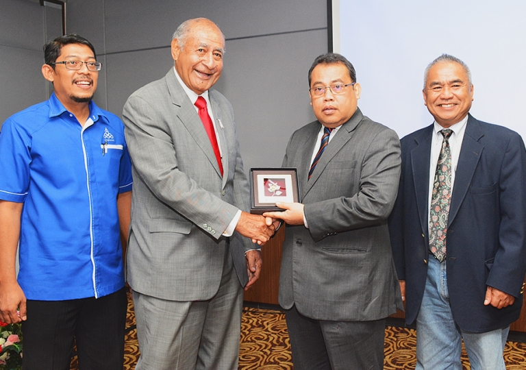 The visit of special envoy to Prime Minister of Fiji